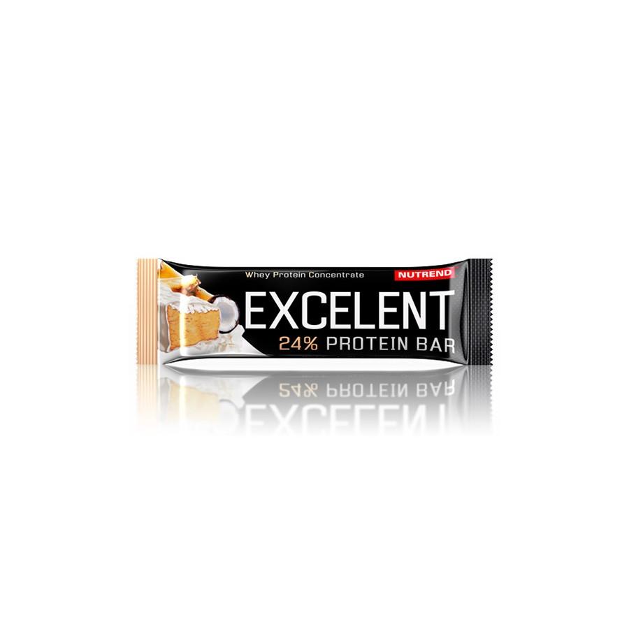 Nutrend EXCELENT proteiinibatoon 40 g, ananassimaitseline kookosega