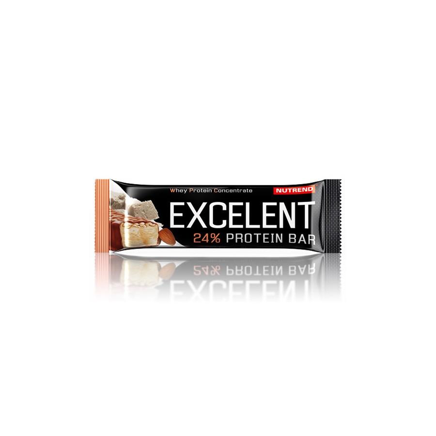 Nutrend EXCELENT proteiinibatoon 40 g, martsipanimaitseline mandlitega