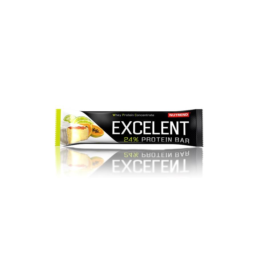 Nutrend EXCELENT proteiinibatoon 85 g, laimimaitseline papaiaga