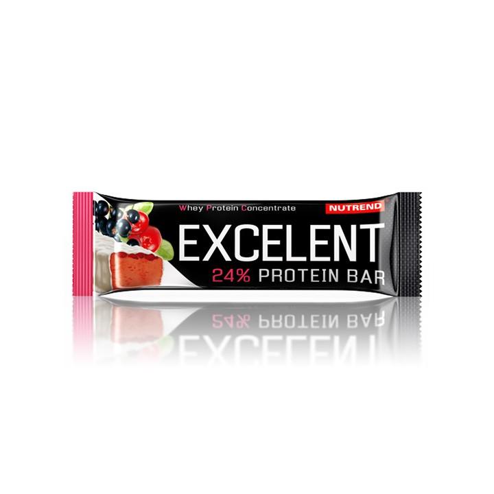 Nutrend EXCELENT proteiinibatoon 40 g, mustsõstramaitseline jõhvikatega