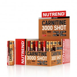 Nutrend CARNITINE  3000 SHOT 60 ml, maasikas