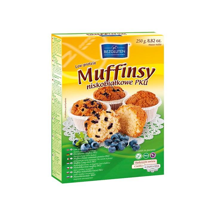 Madala valgusisaldusega muffini pulber
