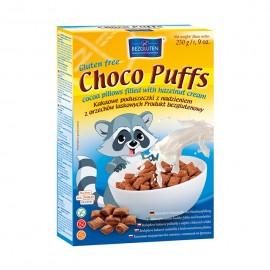 CHOCO PUFFS -Gluteenivabad kakaopadjad täidetud pähklikreemiga
