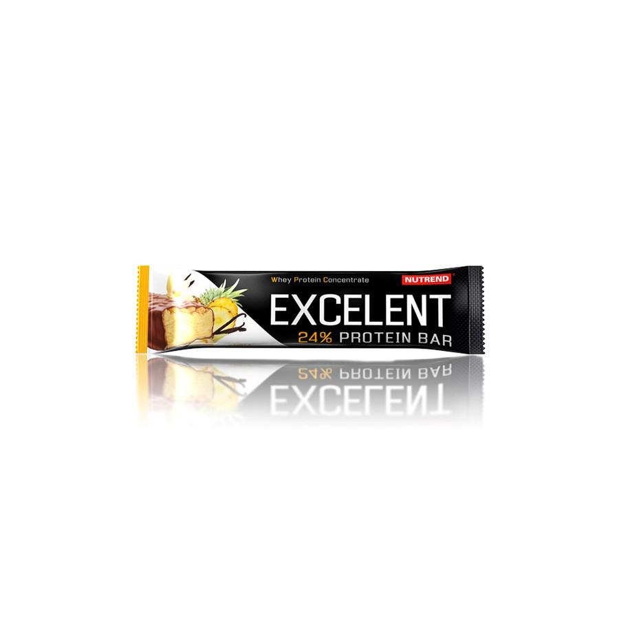 Nutrend EXCELENT proteiinibatoon 85 g, vaniljemaitseline kookospähklitega