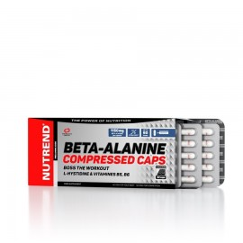 Nutrend BETA-ALANINE COMPRESSED CAPSl, 90 kps
