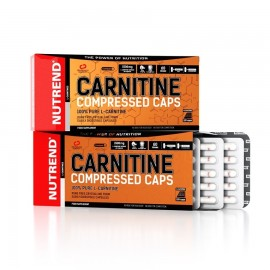 Nutrend CARNITINE COMPRESSED CAPS 120 kapslit