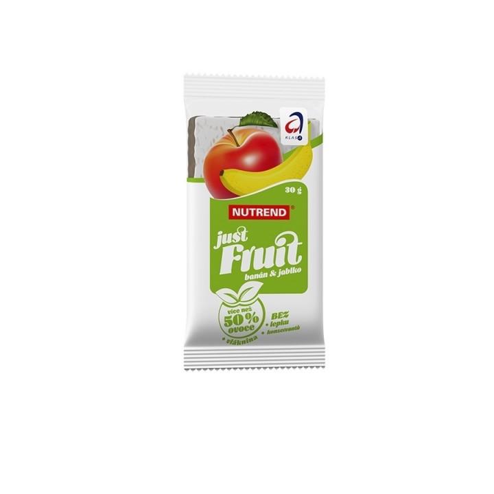 Nutrend JUST FRUIT 30 g, banaan+õun