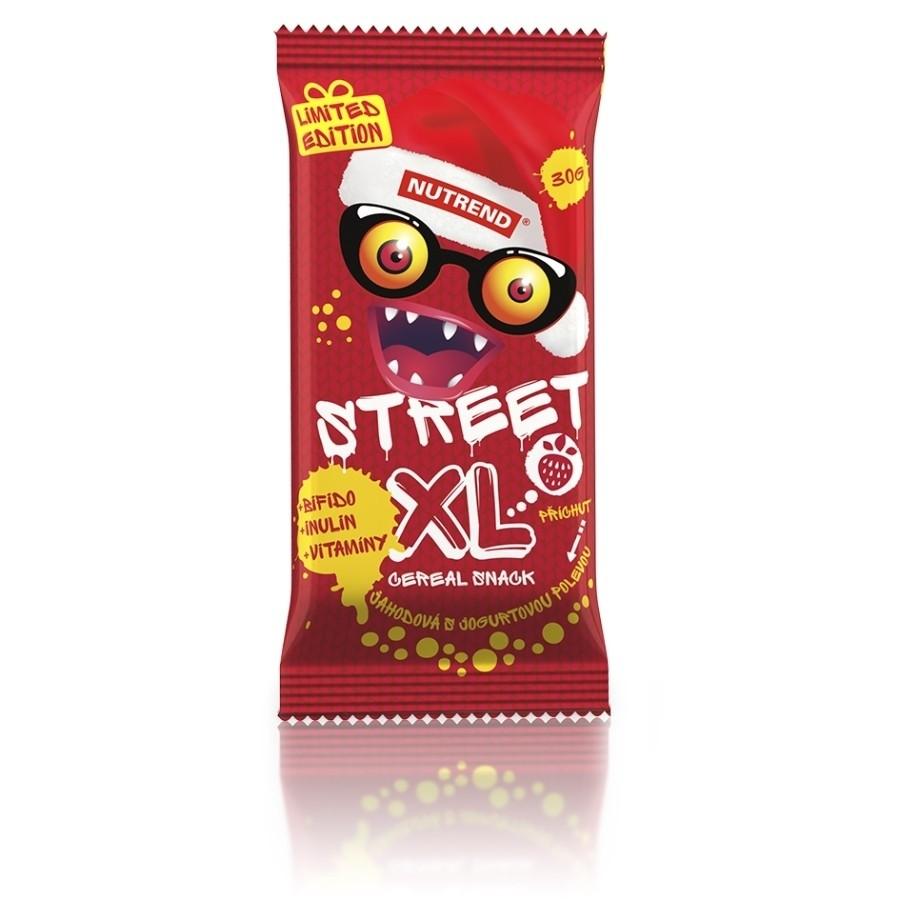 Nutrend STREET XL 30g, maasikamaitseline jogurtikattega