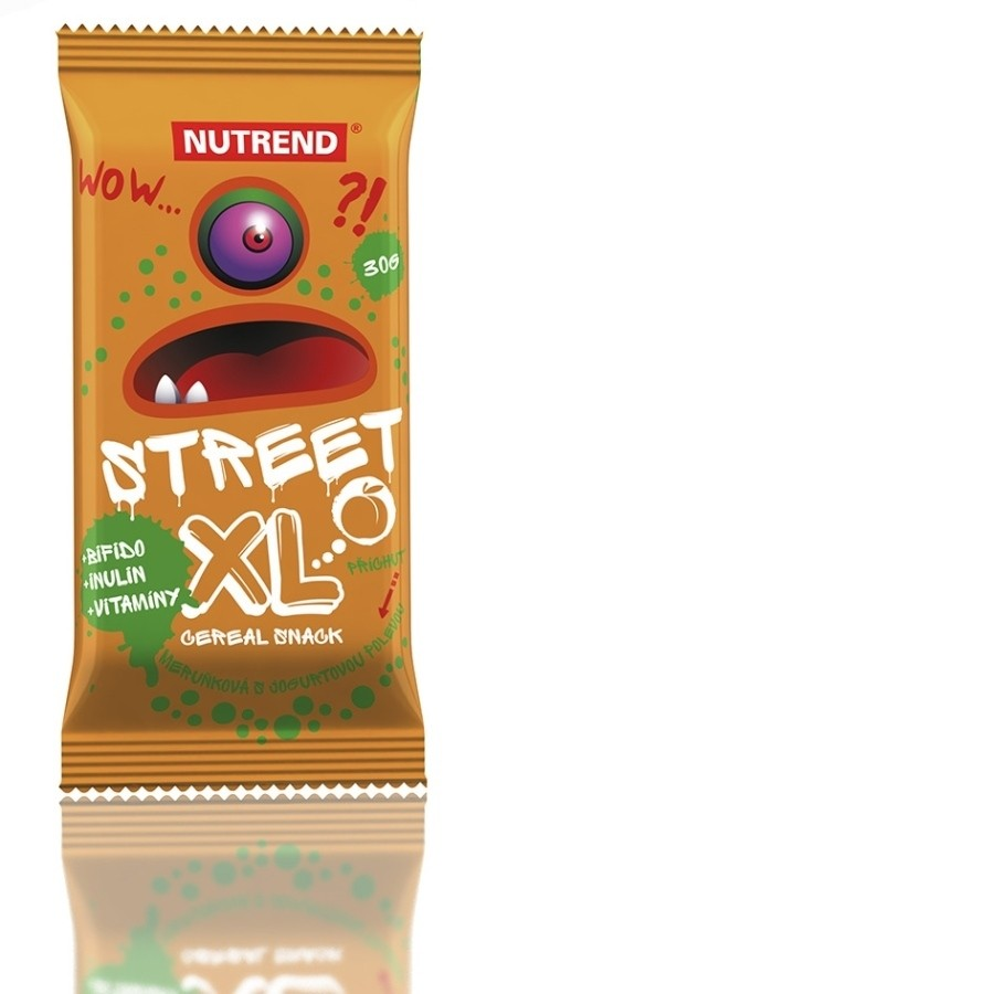 Nutrend STREET XL 30 g, aprikoosimaitseline jogurtikattega