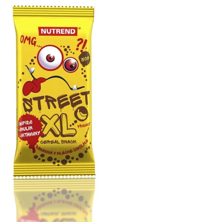 Nutrend STREET XL 30 g, banaanimaitseline šokolaadikattega