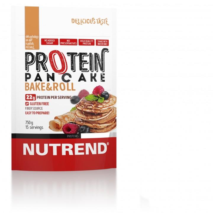 Nutrend PROTEIN PANCAKE, maitsestamata, 750 g