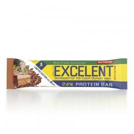 Nutrend EXCELENT kahekihiline proteiinibatoon kofeiiniga85 g, kohvimaitseline