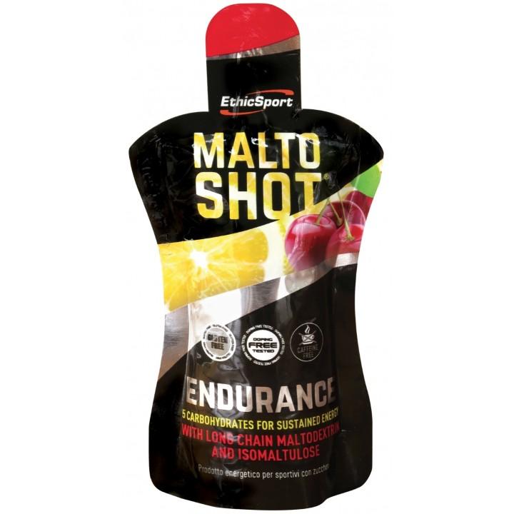 EthicSport MALTOSHOT Endurance 50 ml, kirss-sidrun