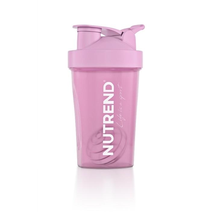 Nutrend sheiker 600 ml, roosa