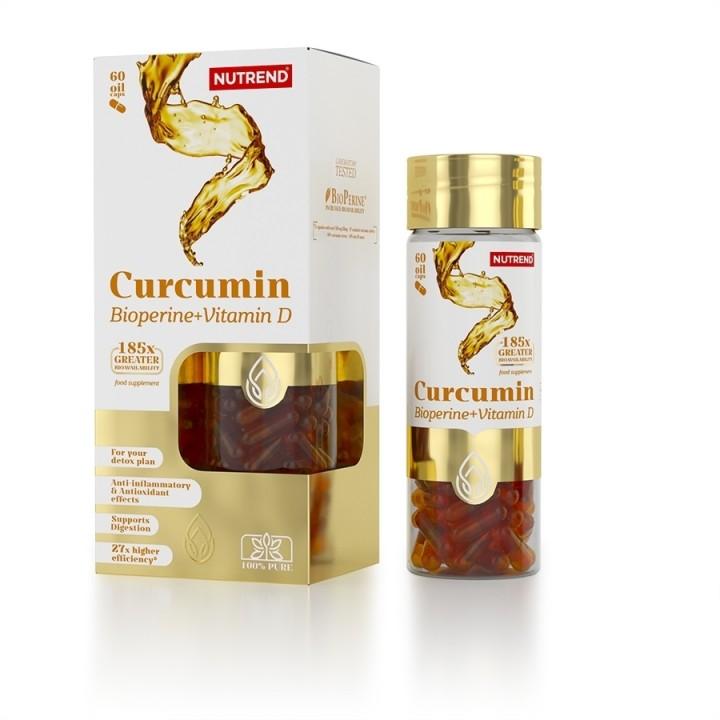 NUTREND CURCUMIN + Bioperine+D vitamiin