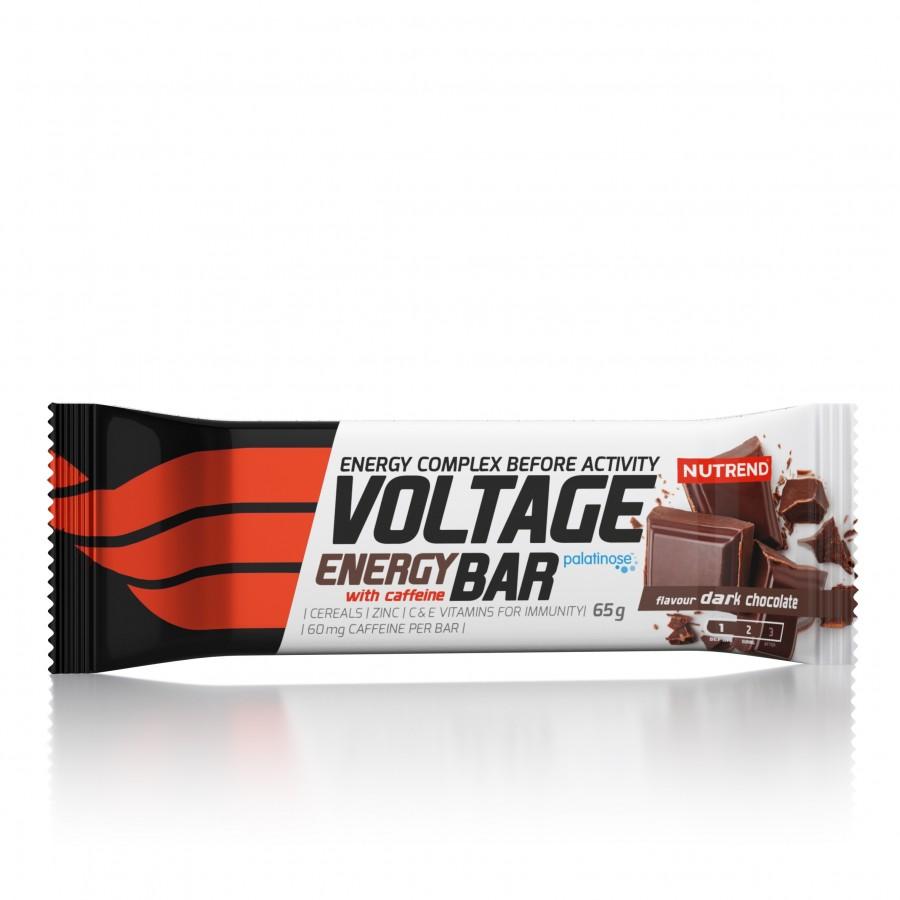 Nutrend VOLTAGE ENERGY DARK CHOCOLATE 65G