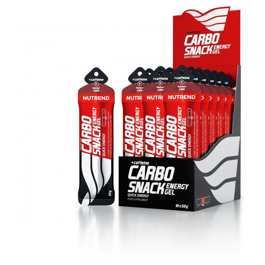 Nutrend CARBOSNACK 55 g kofeiiniga, koola