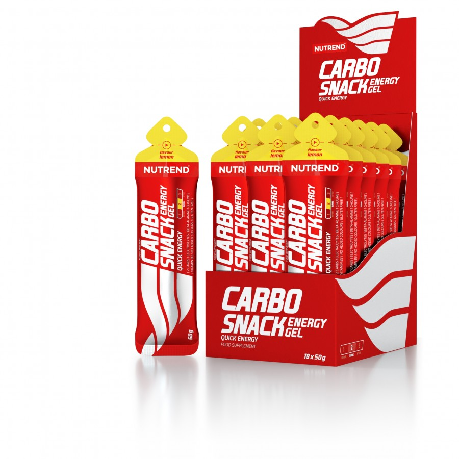 Nutrend CARBOSNACK 55 g, sidrun