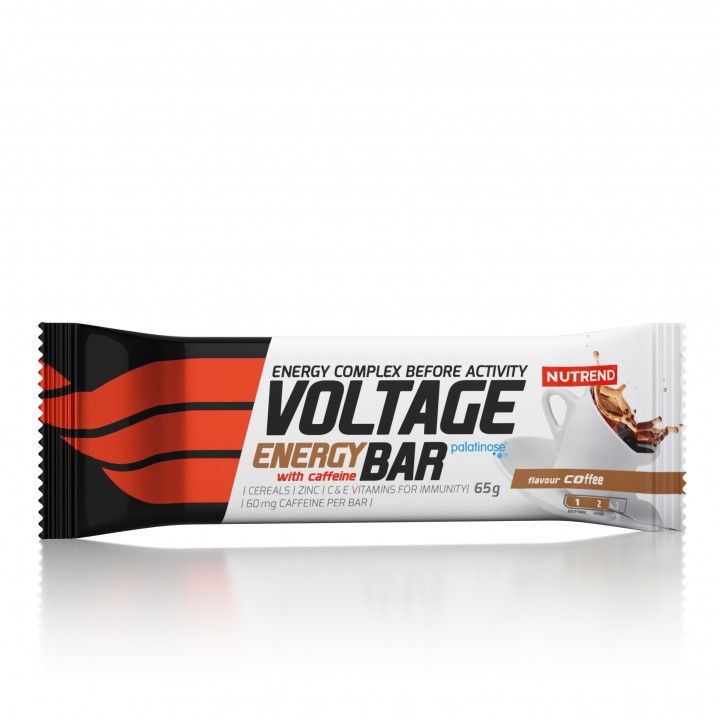 Nutrend VOLTAGE ENERGY CAKE KOFEIINIGA 65 g, kohvi