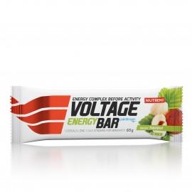 Nutrend VOLTAGE ENERGY CAKE KOFEIINIGA 65 g, sarapuupähkel