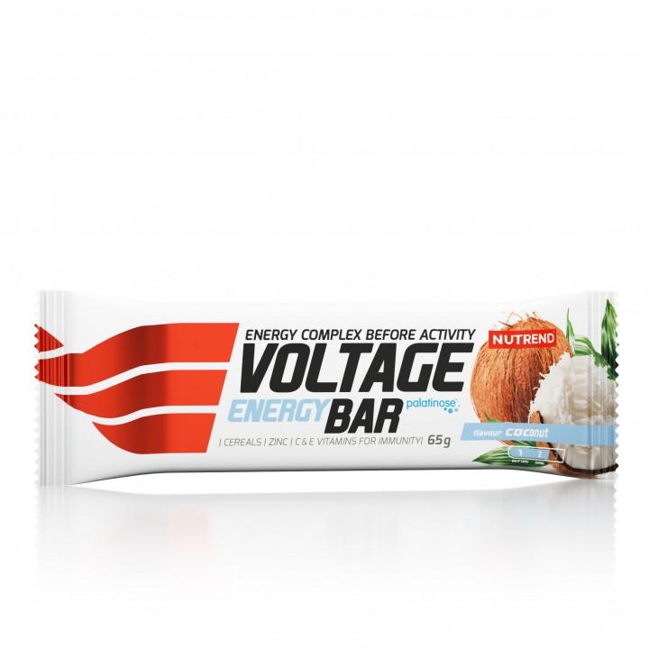 Nutrend VOLTAGE ENERGY CAKE KOFEIINIGA 65 g, kookos