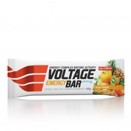 Nutrend VOLTAGE ENERGY CAKE KOFEIINIGA 65 g, eksootiline