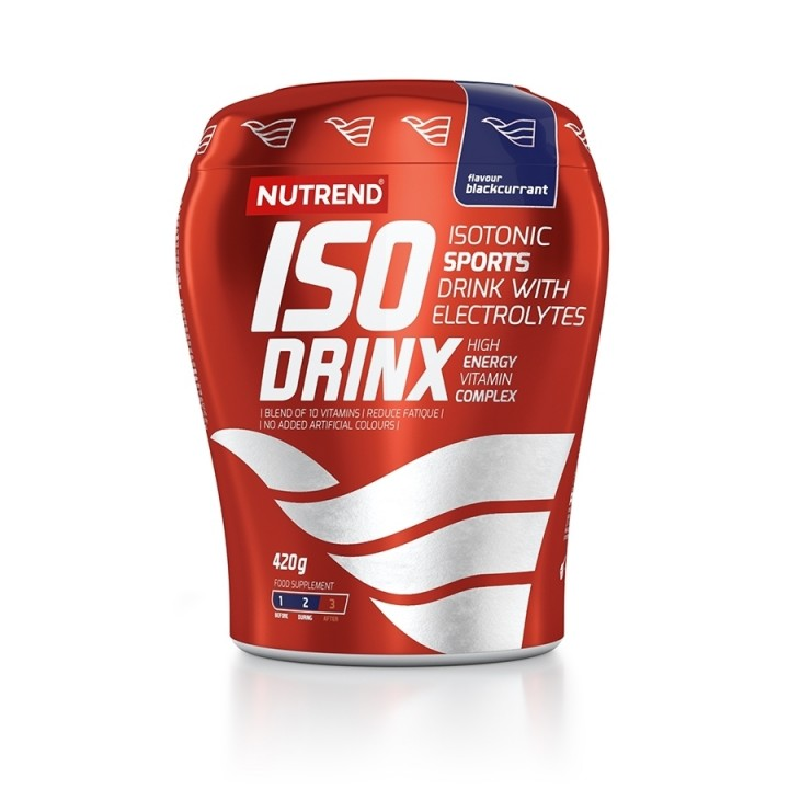 Nutrend ISODRINX 420 g, mustsõstramaitseline